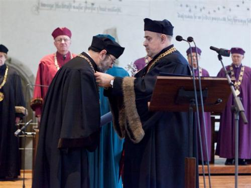 Prof. Tjoa Honorary Doctorate from Czech Technical University