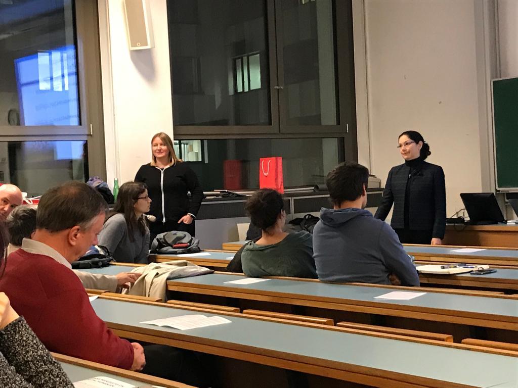 In the photo: Julia Neidhardt (left), Susan J. Winter (right). Photo by Mete Sertkan.